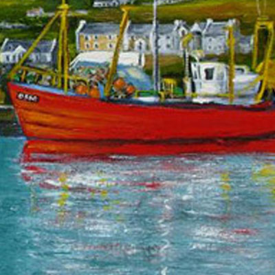Boats at Portmagee